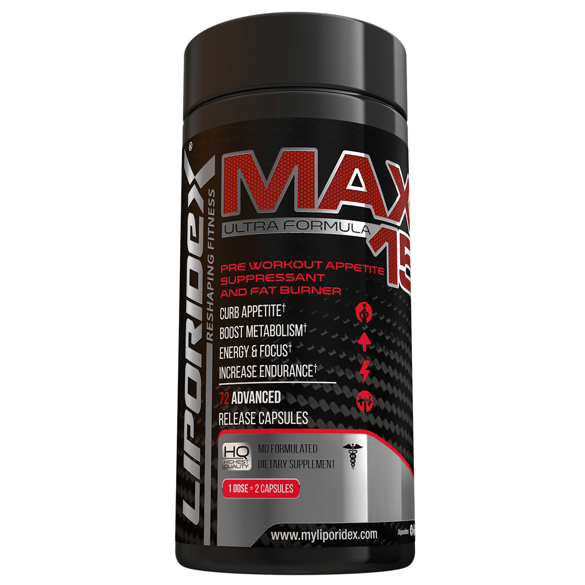 liporidex max15 energy