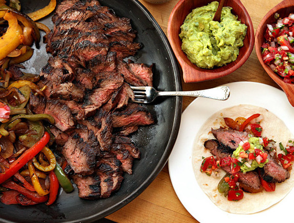 Pituitary Type Steak Fajitas Recipe