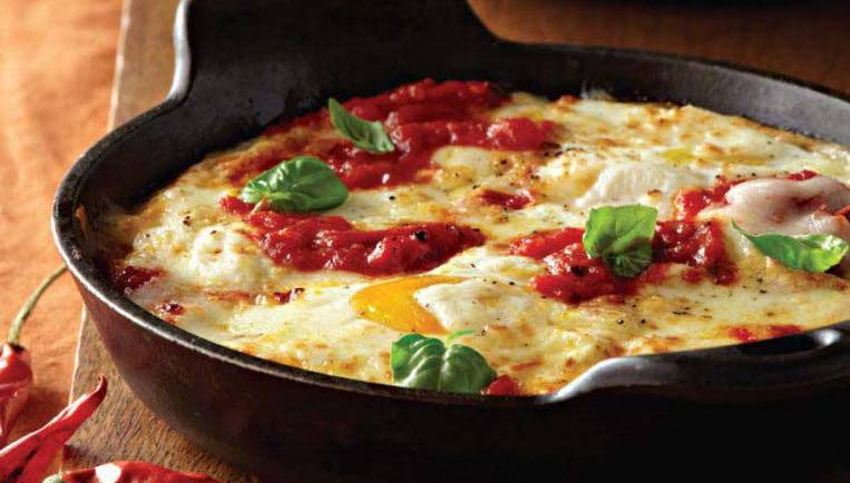 Gonadal Type Eggs Mornay Recipe