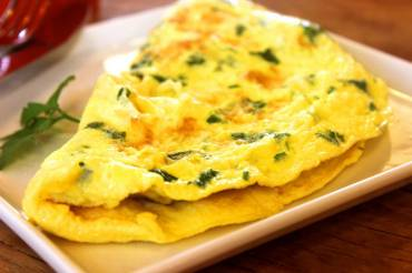 Pituitary Type Herb Omelette Recipe
