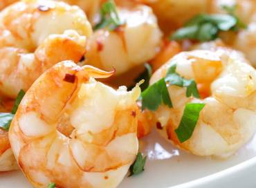 Pituitary Type Broiled Shrimp with Lemon Recipe